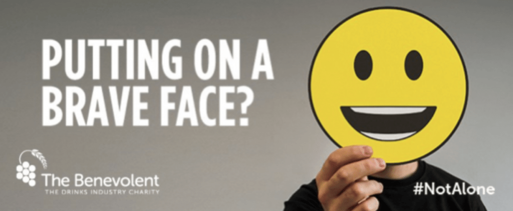Putting on a brave face? You are #NotAlone