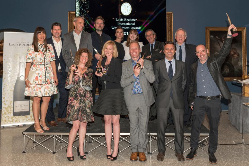 Congratulations to Roederer winners Tim Atkin, Nina Caplan and Simon Woolf