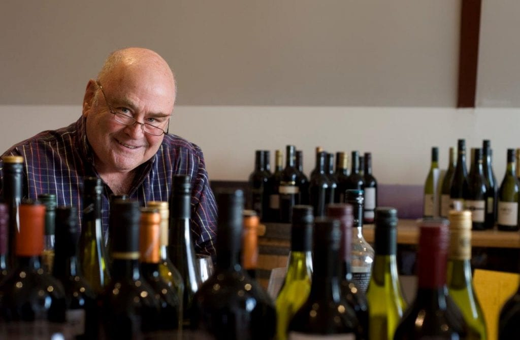 James Halliday moves from tasting to new technology