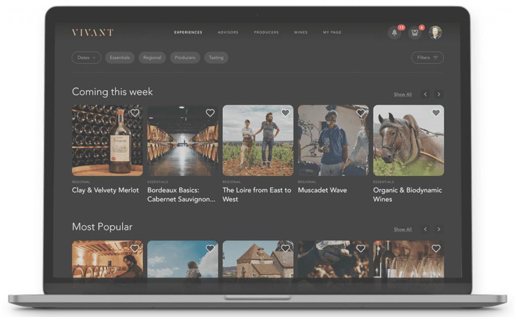 VIVANT: Livening up the online wine stream scene